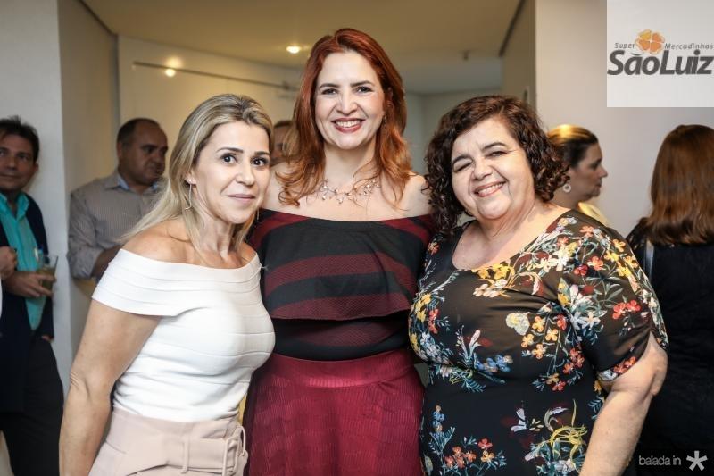 Monica Luz, Enid Camara e Clivania Teixeira