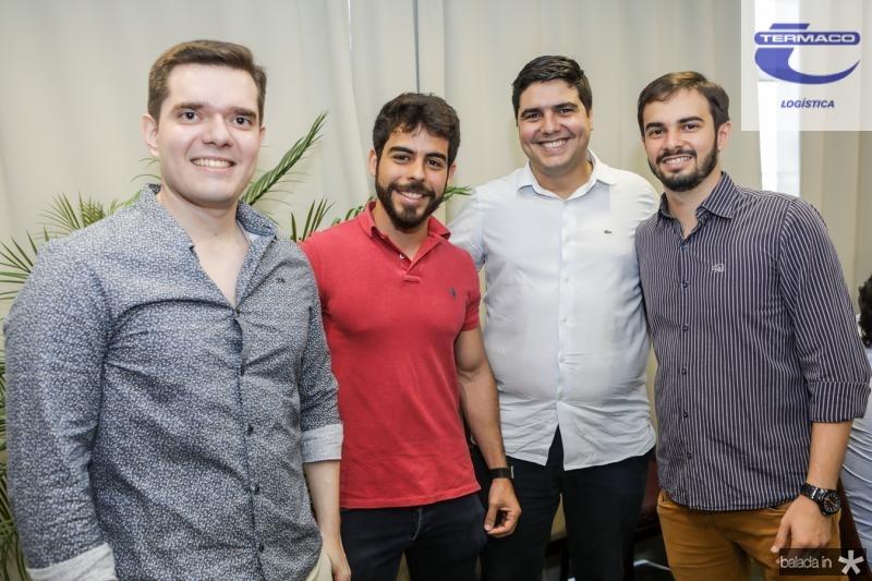 Lucas Mourao, Pedro Rocha, Fred Nobre e Renan Sampaio