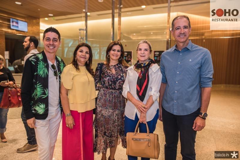 Marcio Correia, Celina Castro Alves, Ivana Bezerra, Ania Ribeiro e Regis Medeiros