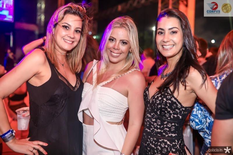 Roberta Andrade, Daniela Farias e Renata Andrade