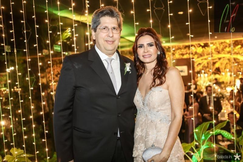 Lucio Bomfim e Lorena Pouchain