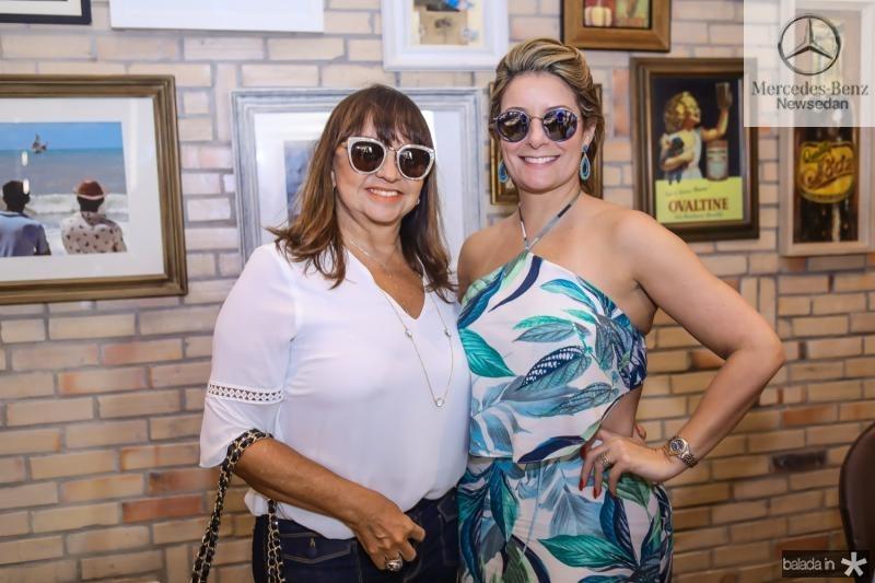 Carmen Cinira e Tatiana Luna