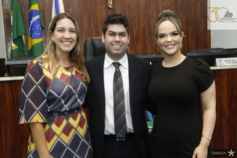 Larissa Gaspar, Mauro Neto e Keliane Benevides 4