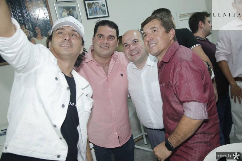 Vicente Nery, Alessandro Lanuci, Roberto Claudio e Renato Felipe
