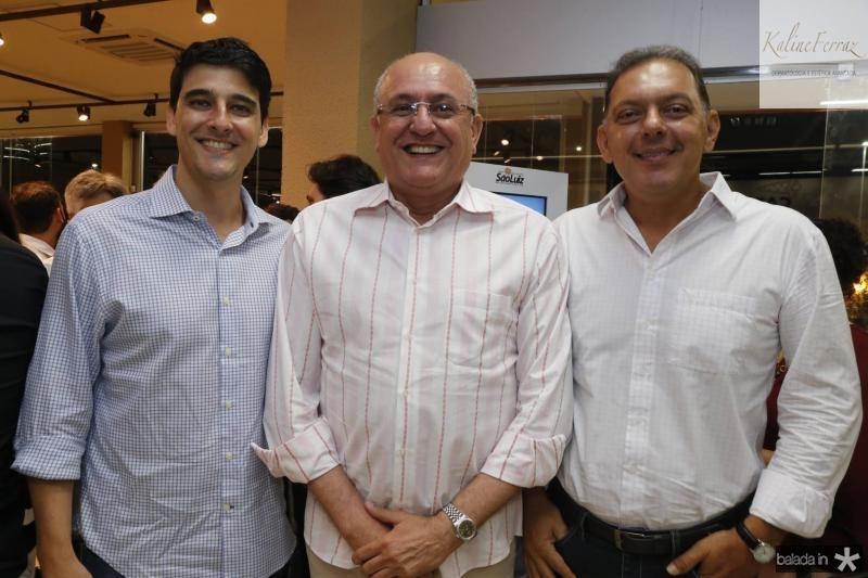 Diego Pesqueira, Rodrigues Junior e Carlos Campalo