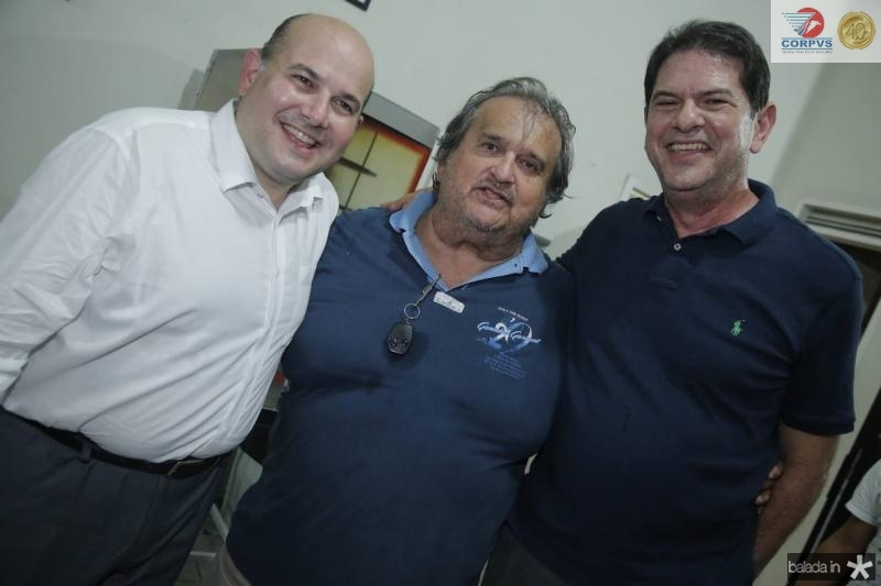Roberto Claudio, Vaval e Cid Gomes 1