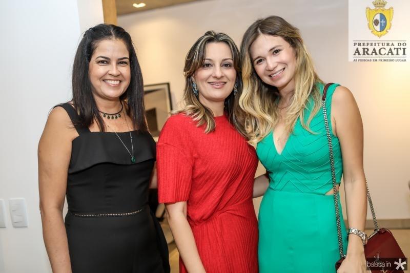 Denise Cabral, Carolina Campos e Camile Cruz