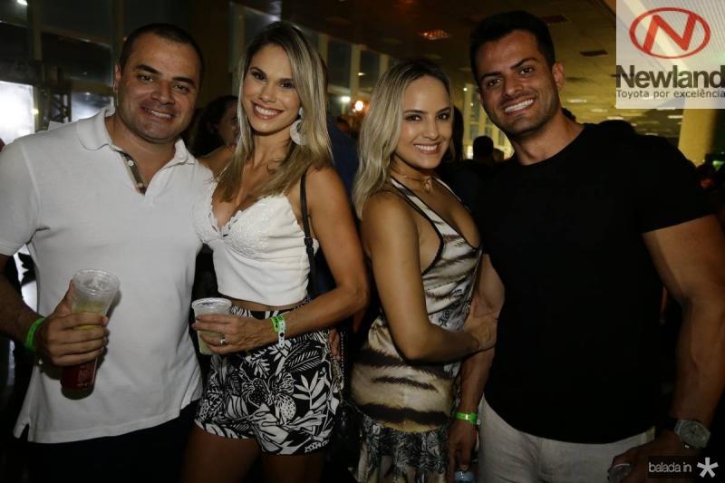 Fred Oliveira e Larissa Sales, Glauber Henrique e Laissa Santos