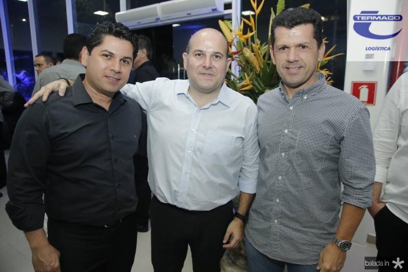 Pompeu Vasconcelos, Roberto Claudio e Erick Vasconcelos 1