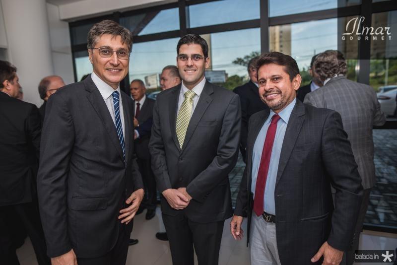 Hugo Figueiredo, Joao Gabriel Rocha e Helio Winston