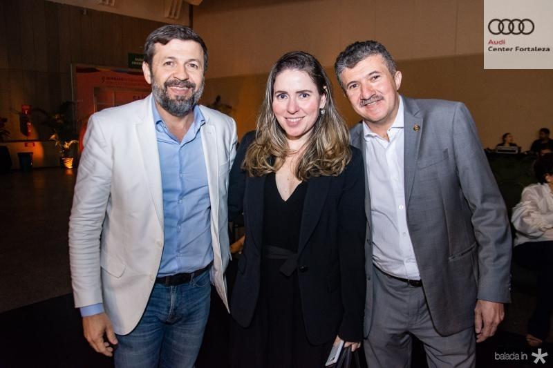 Elcio Batista, Agueda Muniz e Antonio Henrique