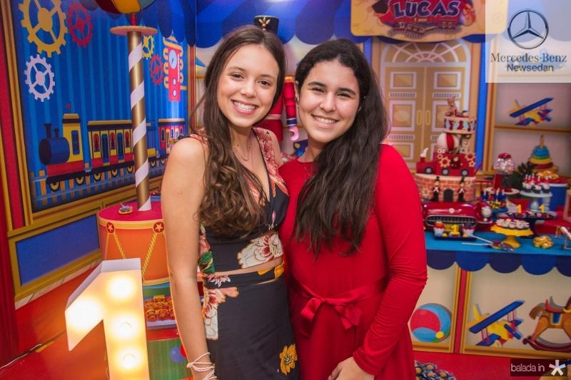 Isabela e Lara Albquerque