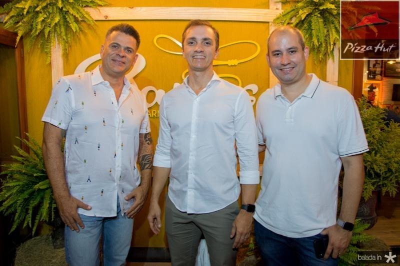 Miguel Saboia, Marcelo Marfrutas e Andre Linheiro