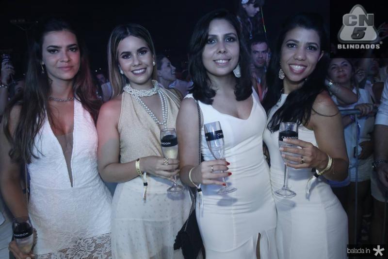 Paula Sancho, Rebeca Costa, Fernanda Soares e Raquel Becker