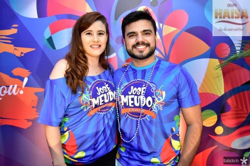 Juliana Andrade e Patrick Costa