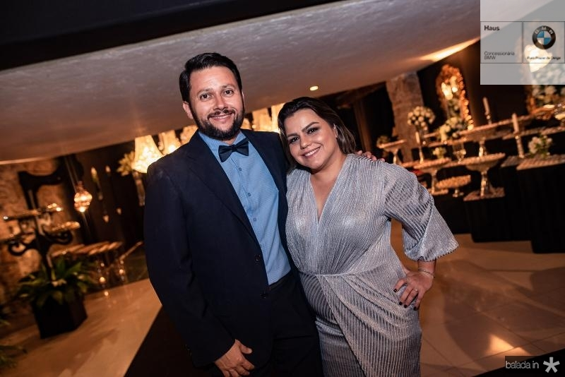 Flavio Lopes e Renata Benevides
