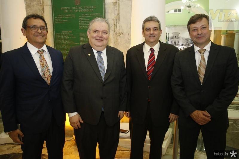 Ze Gudes, Pedro Jorge Medeiros, Joaquim Guedes Neto e Fernando Franco
