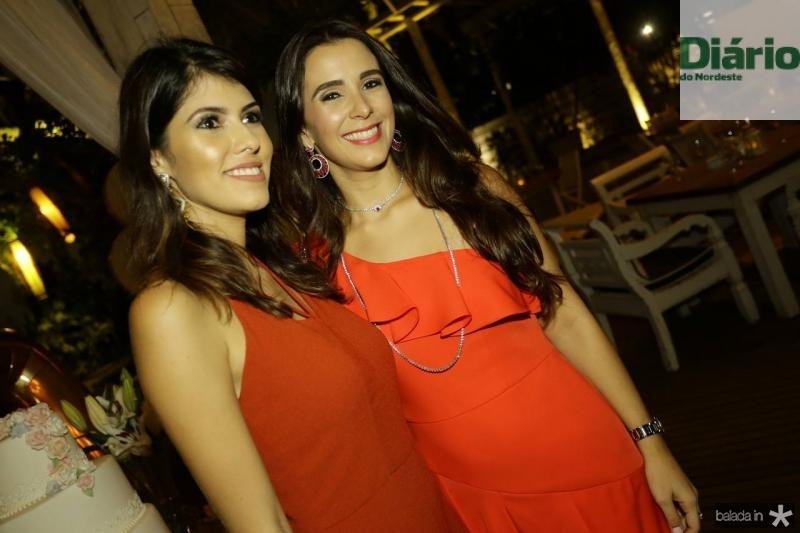 Flavia Simoes e Vivian Barbosa