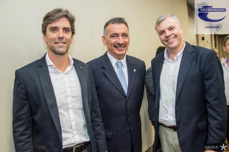 Rui do Ceara, Artur Bruno e Lucas Ferianci