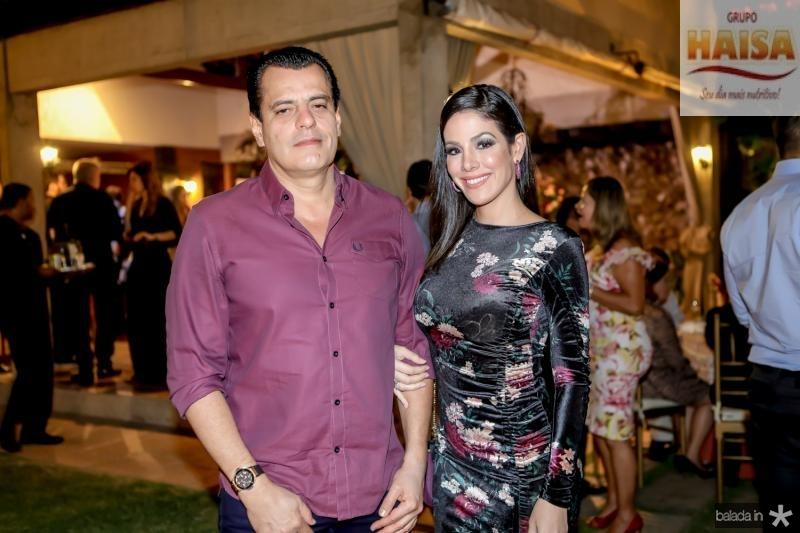 Magno Nogueira e Carla Brasil