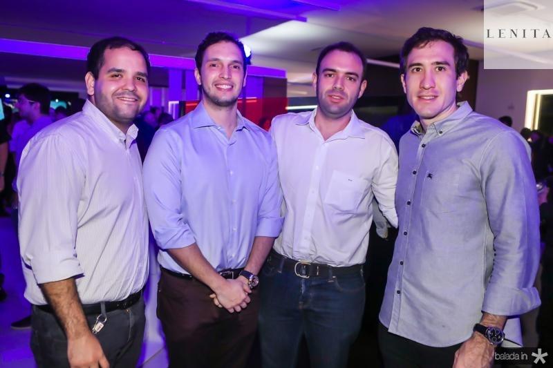 Rafael Andrade, Roberto Cabral, Diego Sidrao e Luis Bittencourt