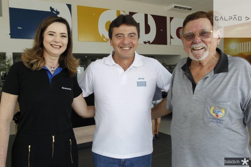 Ana Pinheiro, Luiz Teixeira e Jose Sobral