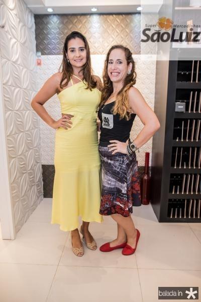 Georgia Vieira e Joanne Ximenes