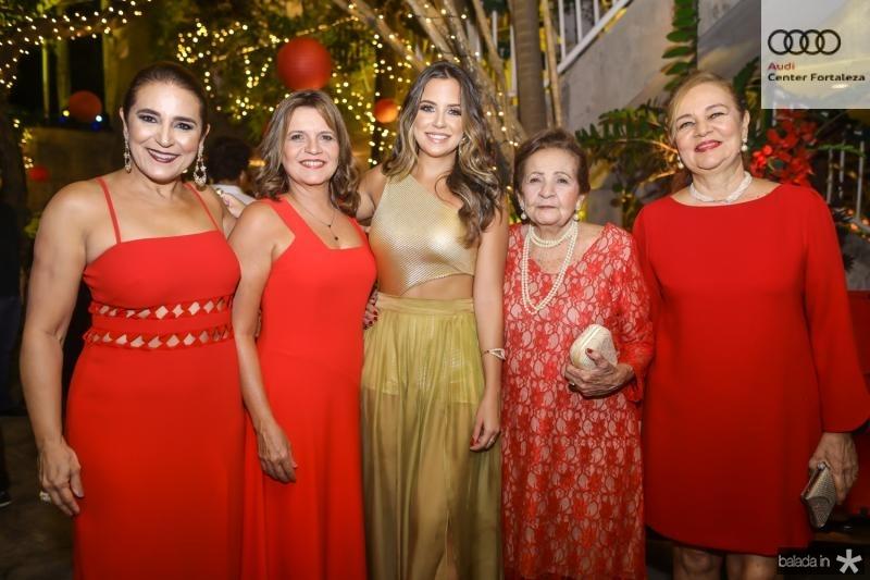 Patricia Macedo, Geni, Fernanda, Glaucia e Cristiane Levy