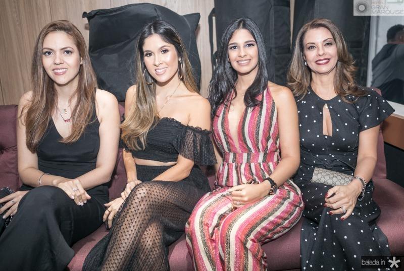 Flavia Torquato, Manoela de Castro, Tatiana Cruz e Edileda Mendes