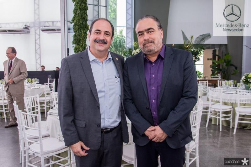 Paulo Andre Holanda e Helio Parente