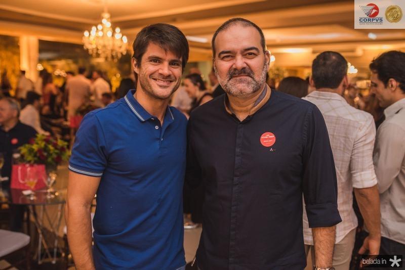 Marcio Petrone e Bosco Couto