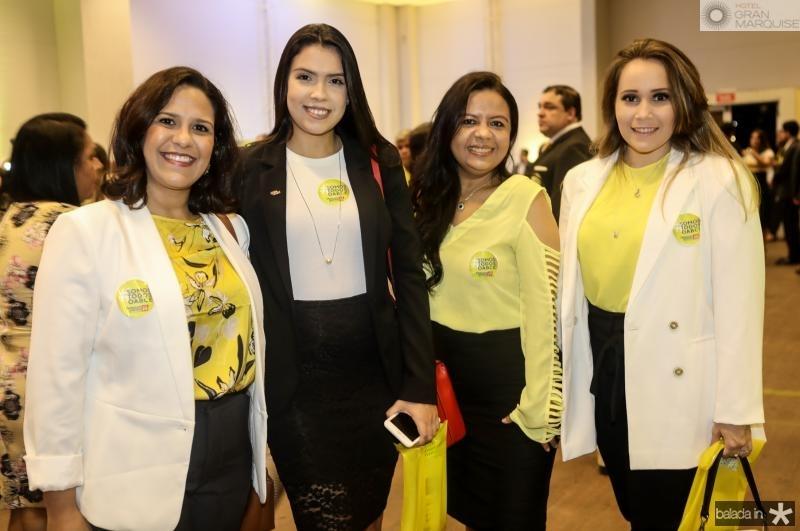 Elaine Fernandes, Hadassa Feitosa, Acassia Noroes e Mariana Barros