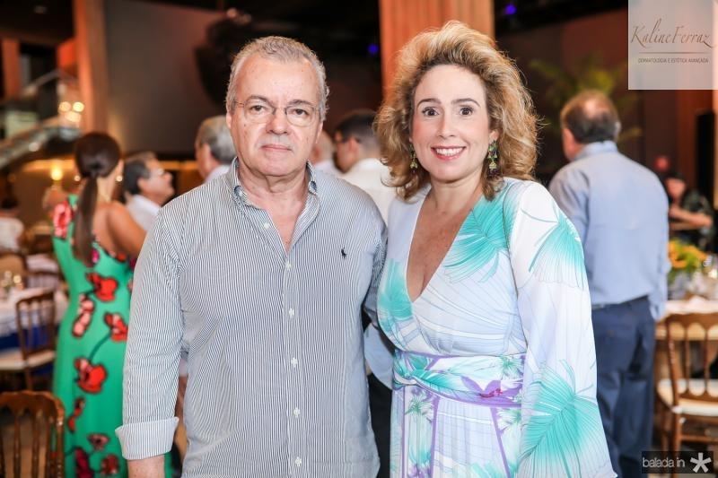 Rui Guilhon e Vladia Vasconcelos