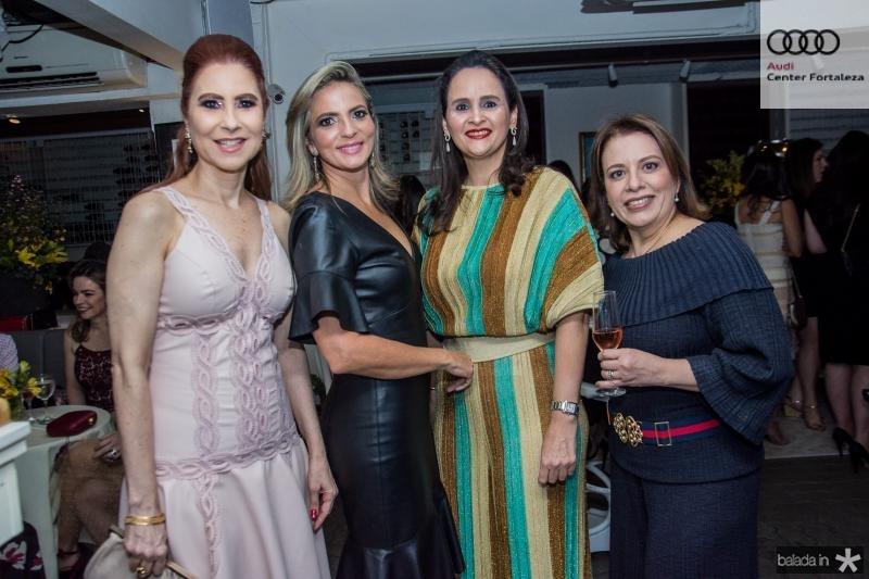 Ana Paula Barreira, Michele Aragao, Adriana Miranda e Zelia Gadelha