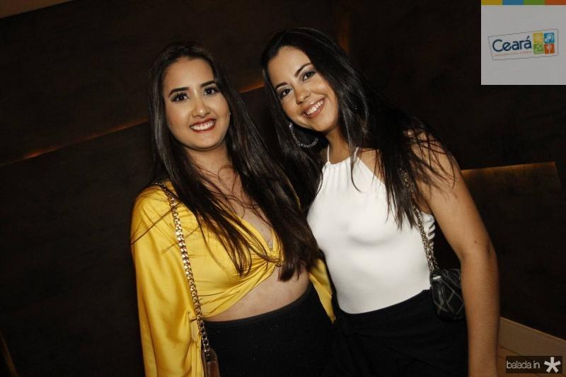 Samea Nogueira e Eduarda Farias