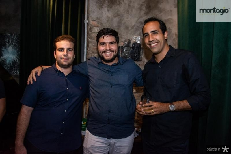 Paulo Salim, Fred Nobre e Danilo Lobo