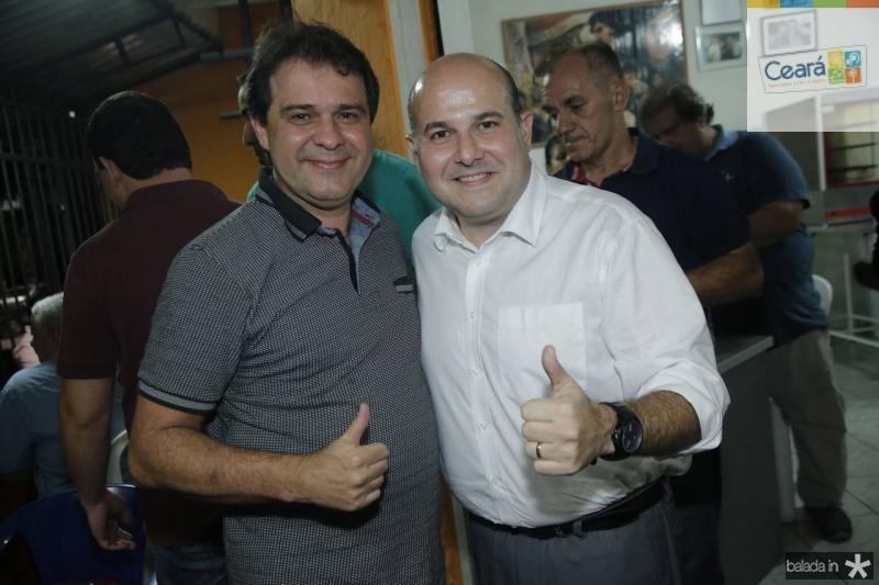 Evandro leitao e Roberto Claudio