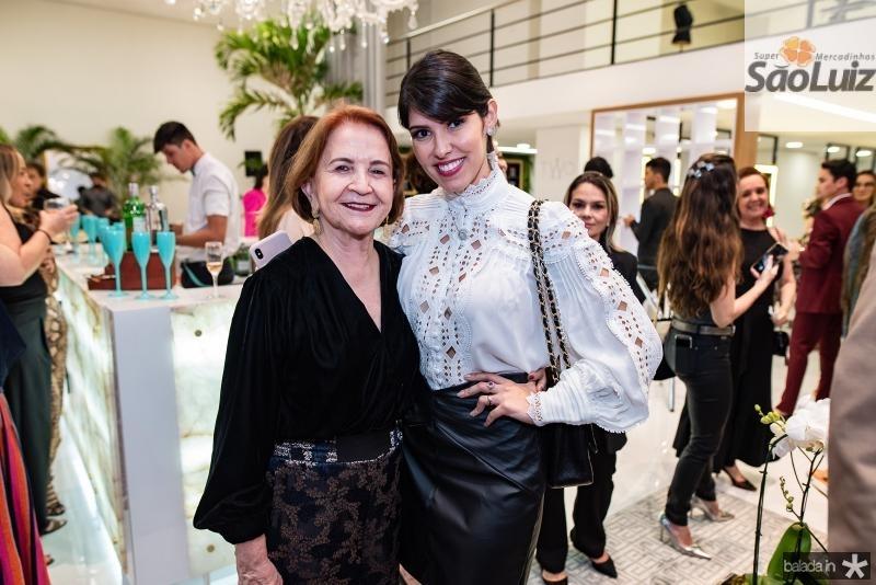 Lenita Negrao e Flavia Laprovitera