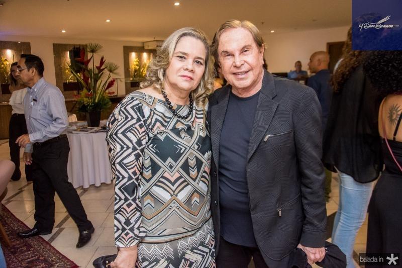 Cristina Lobo e Lazaro Medeiros