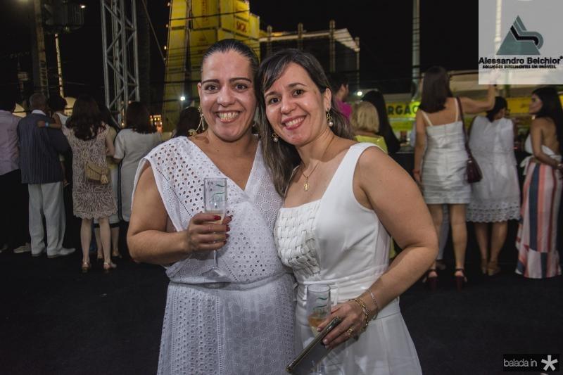 Ana Luiza Farias e Daniele Araripe