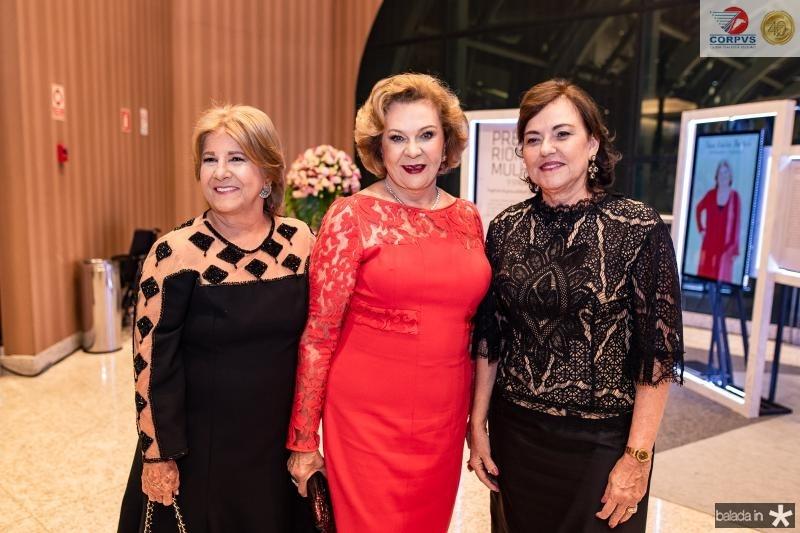 Ana Lucia Bastos, Auxiliadora Paes Mendonca e Ana Studart