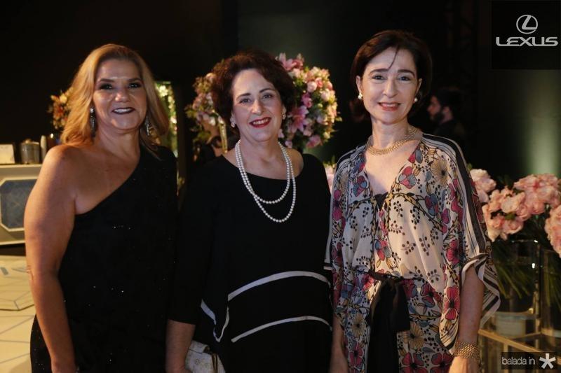 Sandra Monteiro, Gina Marinho e Madiana Romcy