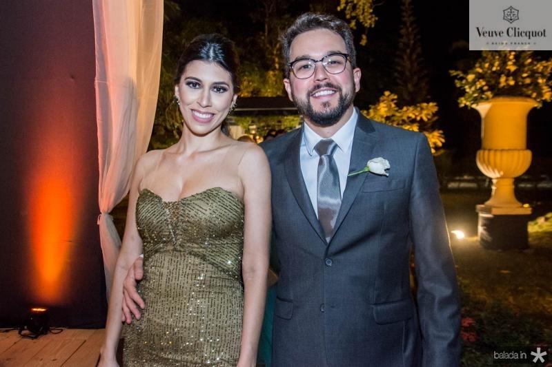 Camila Saraiva e Victor Oliveira