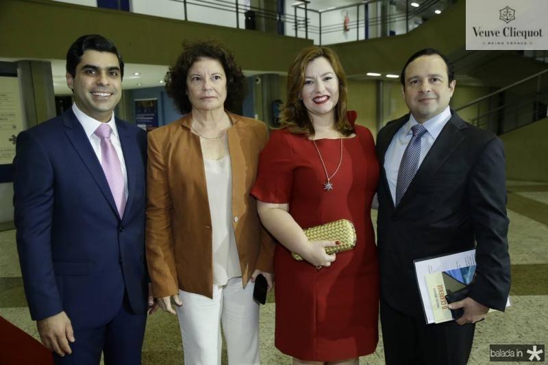 Queiroz Filho, Valeria Serpa, Aline e Igor Queiroz Barroso