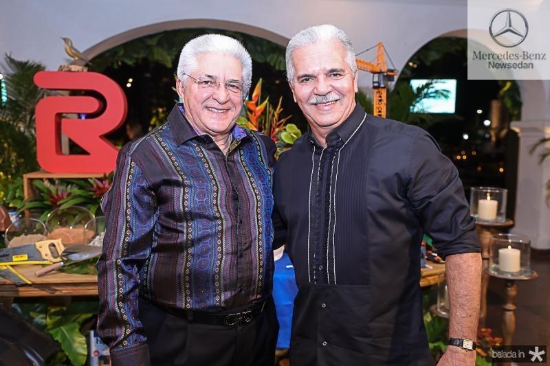 Deusmar Queiros e Pio Rodrigues