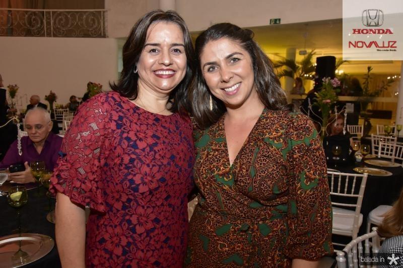 Nabirra Acario e Lia Freire