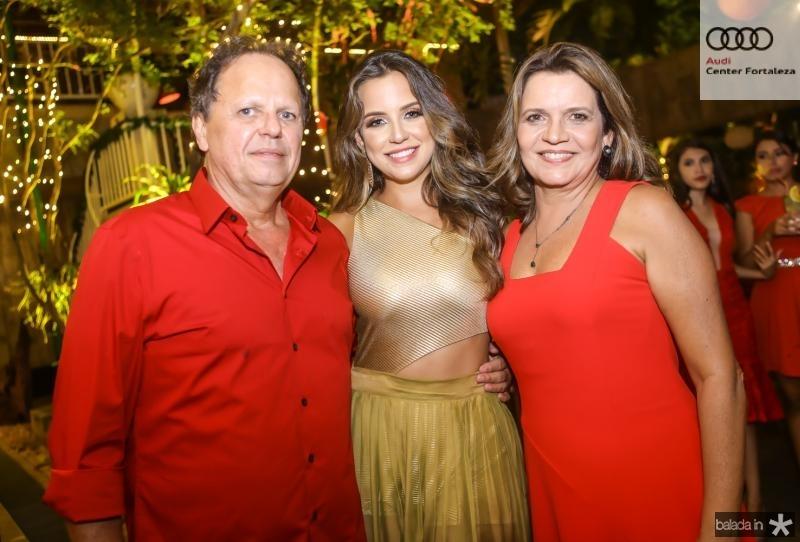 Wilton, Fernanda e Geny Correia Lima