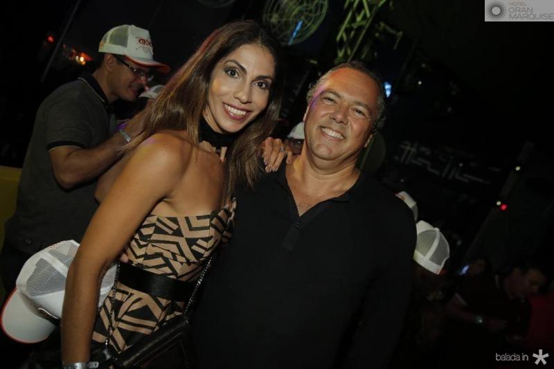Sinara e Claudio Leal