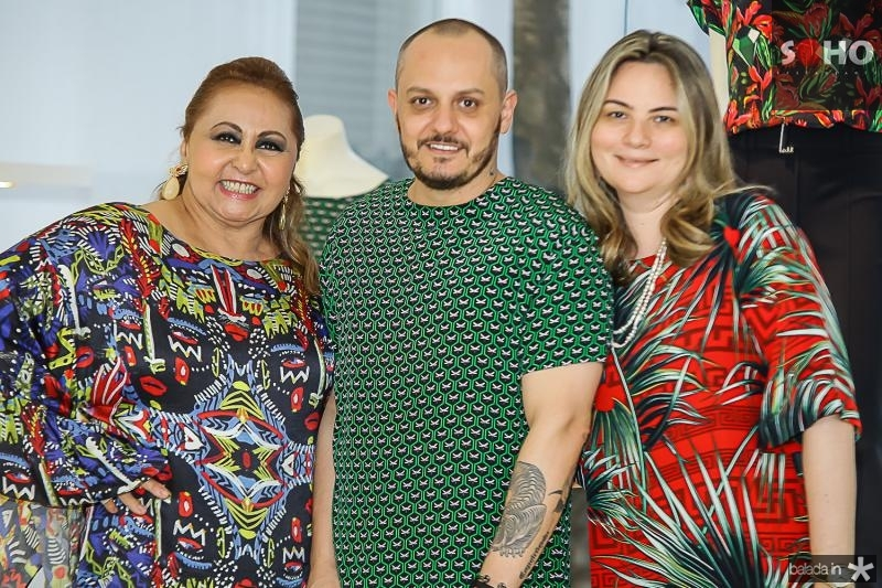 Maria Aguiar, Giuliano Mazeti e Soraya Pinheiro
