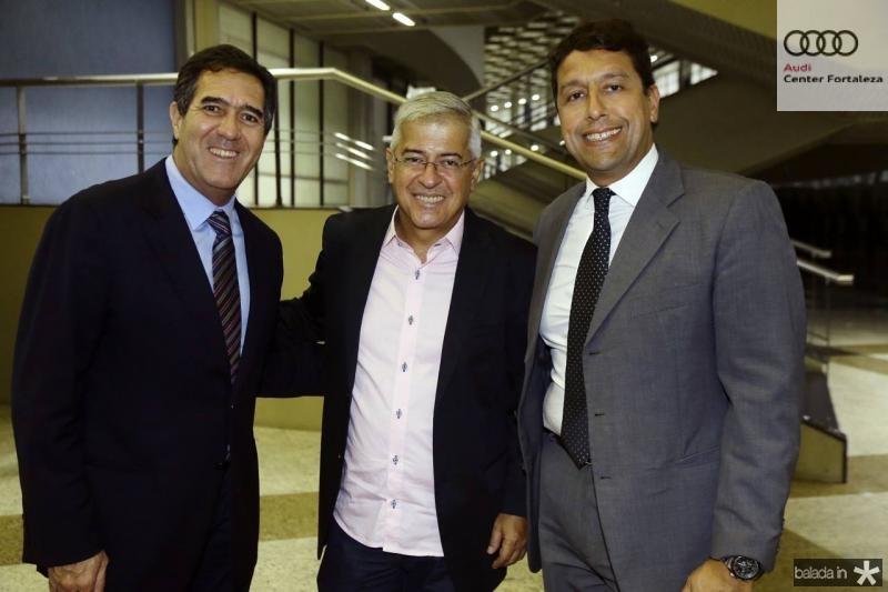 Luis Gastao Bittencourt, Paulo Cesar Noroes e Gony Arruda